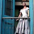 Mujer En Ventana by Adrian Rios Acevedo