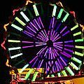 Multi Colored Ferris Wheel by Kym Backland