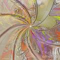 Multi Colored Pinwheel by Deborah Benoit