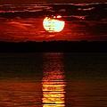 Multiline Sunset by William Bartholomew
