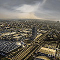 Munich From Above - Vintage Part by Hannes Cmarits