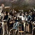 Munkacsy: Strike, 1895 by Granger