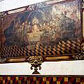 Mural At San Xavier Mission  by Jon Berghoff