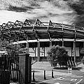 Murrayfield Stadium Edinburgh Rugby Scotland by Joe Fox