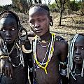 Mursi Boys by Nichon Thorstrom