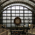 Musee D'orsay's Clock by Carla Parris