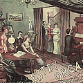 Musical Evening Ad, C1890 by Granger