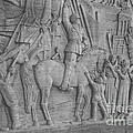 Mussolini, Haut-relief by Photo Researchers