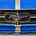 Mustang Grill by Frozen in Time Fine Art Photography