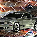 Mustang Saleen  by Tommy Anderson