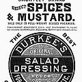Mustard Ad, 1889 by Granger