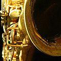 My Bari Sax by Kristine Ellison