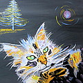 My Calico Cat Wizard by Phyllis Kaltenbach
