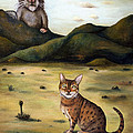 My Cats Worst Nightmare by Leah Saulnier The Painting Maniac