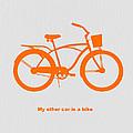 My other car is bike by Naxart Studio