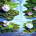 My Waterlilies by Phyllis Kaltenbach
