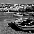 Mykonos Boats by Eric Tressler