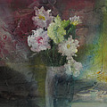Mystical Flowers by Marilyn Woods