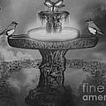 Mystical Garden Waterfountain by Belinda Threeths