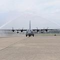 N Air Force C-130e Hercules by Stocktrek Images