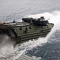 N Amphibious Assault Vehicle Departs by Stocktrek Images