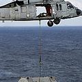N Mh-60s Sea Hawk En Route by Stocktrek Images