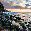 Na Pali Sunset by Adam Pender