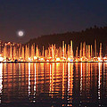 Nanaimo Harbour by Dayvid Clarkson
