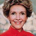 Nancy Reagan, 40th First Lady by Photo Researchers