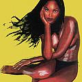 Naomi Campbell by Emmanuel Baliyanga