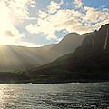 Napali Coast Sunrise by Lauri Novak