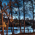Napanee River At Dawn by John Herzog