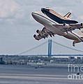 Nasa Enterprise Space Shuttle by Susan Candelario