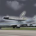 Nasa Space Shuttle by Ericamaxine Price