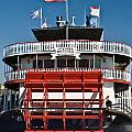 Natchez Riverboat by Jim Chamberlain
