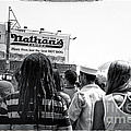 Nathan's Crowd In Coney Island 2 by Madeline Ellis