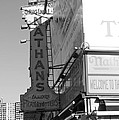 Nathan's Famous At Coney Island In Black And White by Rob Hans