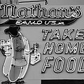 Nathan's Famous In Black And White by Rob Hans