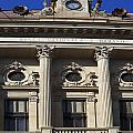 National Bank Of Romania by Sally Weigand