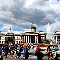 National Gallery At Trafalgar Square by Pravine Chester