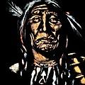 Native American Elder by Amanda Gillman