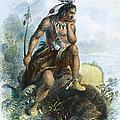 Native American Hunter by Granger