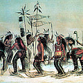 Native American Indian Snow-shoe Dance by Photo Researchers