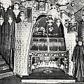 Nativity Grotto In 18th Century by Munir Alawi