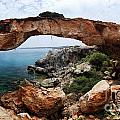 Natural Bridge - Cape Gkreko - Cyprus by Oleksiy Maksymenko
