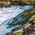 Natural Spring Waterfall Big River by Peggy Franz