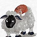Natural Wool Cat Nap by Ellen Miffitt