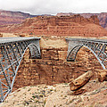 Navajo Bridge In Arizona by Jack Schultz