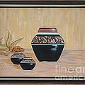 Navajo Pots by Don Monahan