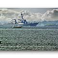 Naval Ship by Brian Wallace
